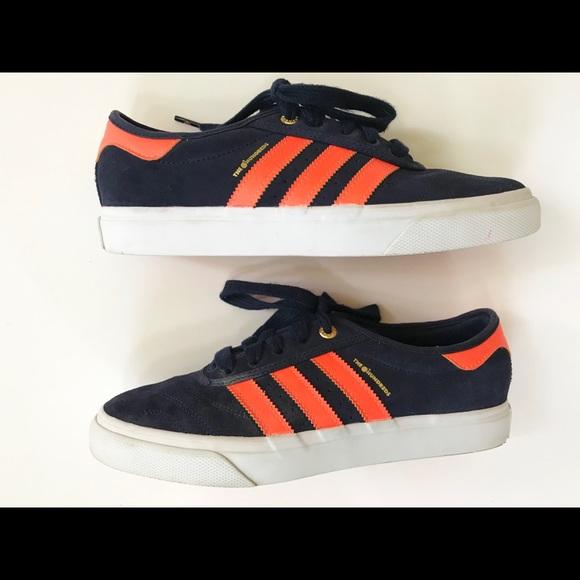sports shoes cc31a 00432 adidas Other - Adidas Adi-ease Hundreds Orange Crush Skate Shoes